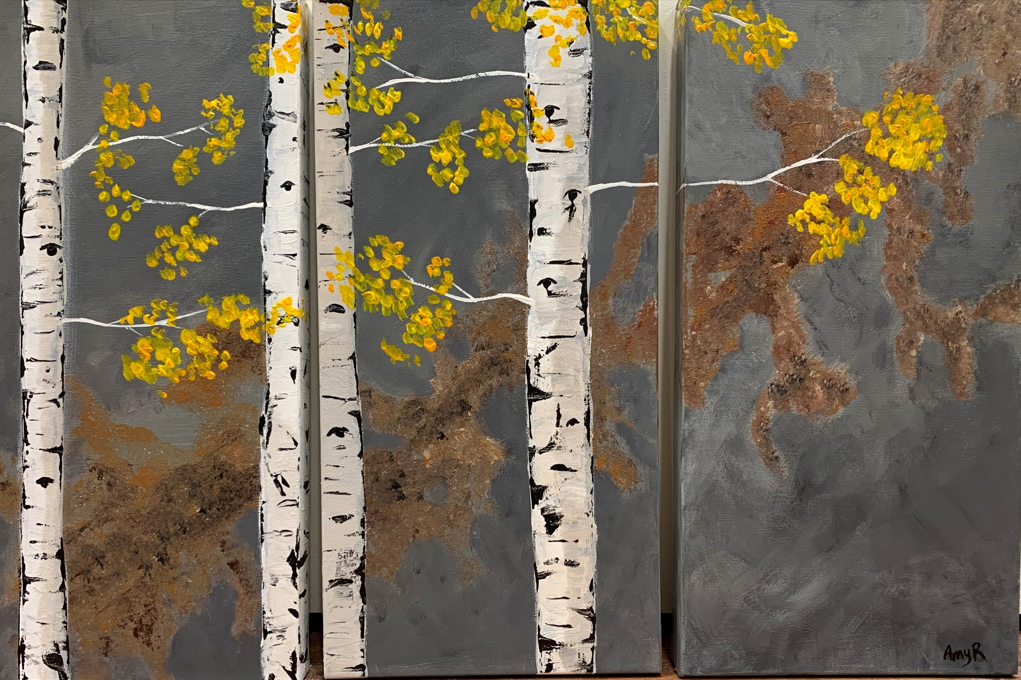 Fall Aspen Tryptic