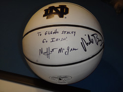 Raffle item, signed by Mike Brey!
