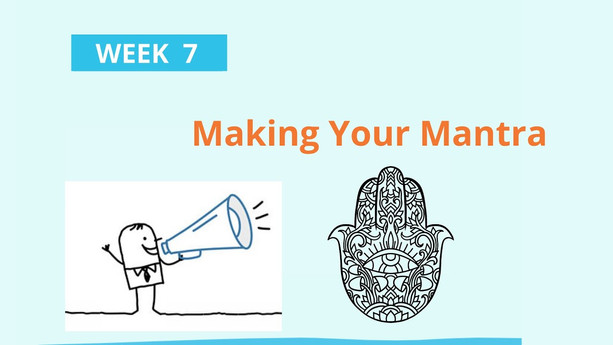 Boomer Zoomer MeetUp #7 Making Your Mantra