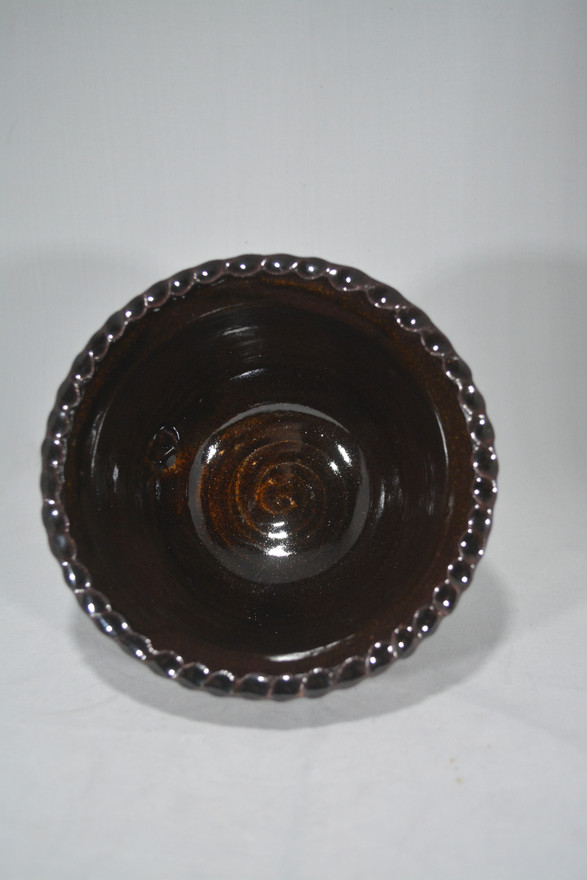 Inside Bowl With Rope Edge