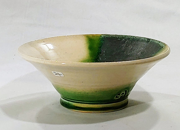 Medium Straight-sided Bowl ––White Clay