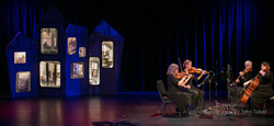 Quartet with Stage Set