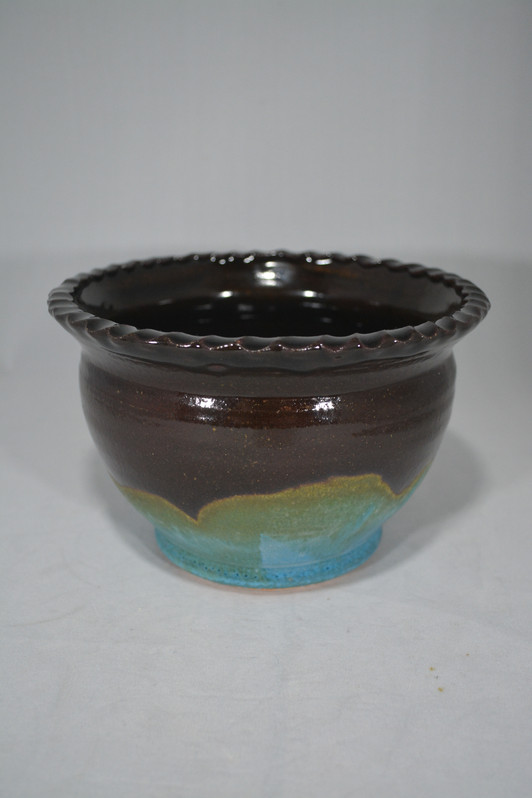 Bowl with Rope Edge
