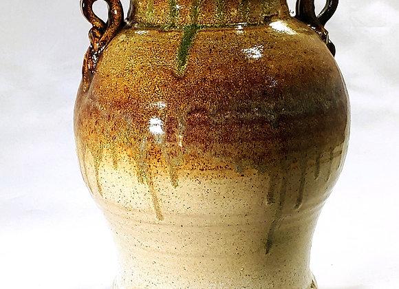 Large Vase/Jar with Loop Handles