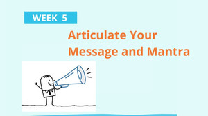 Boomer Zoomer MeetUp #5 ~ Articulate Your Message