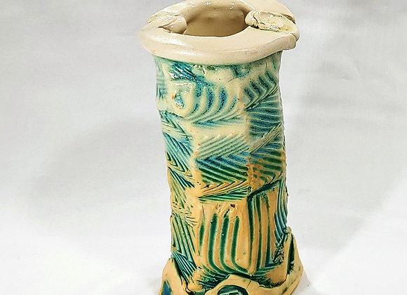 Vase––Wabi-Sabi Hand-Built