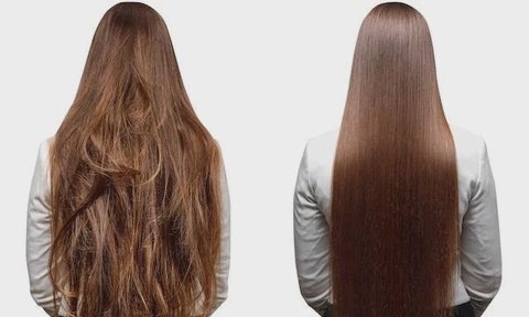 Keratin Treatment is a salon treatment to straighten hair, natural curls and lasts up to six months