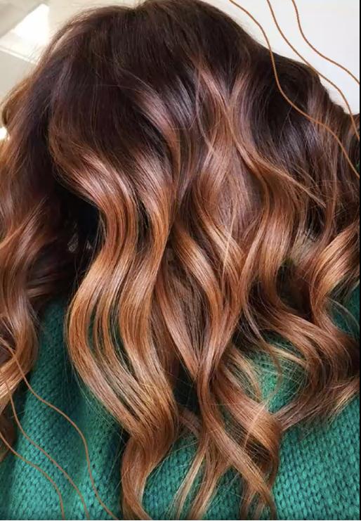 Copper Hair Options for Brunettes