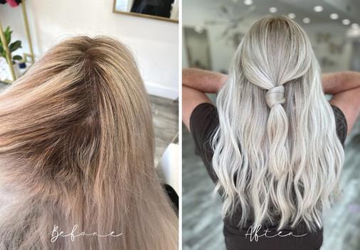 Blonde Transformation - Signature Blonde AF