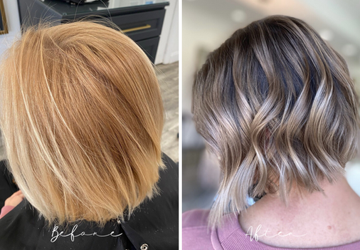 Root Smudge and Tone - From Overly Highlighted to Perfectly Toned