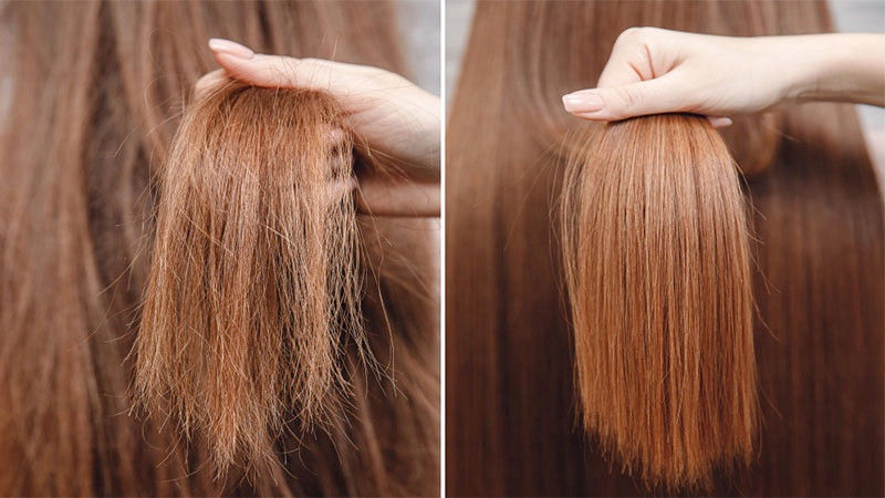 Here is how much hair curl pattern permanently treated with keratin solution