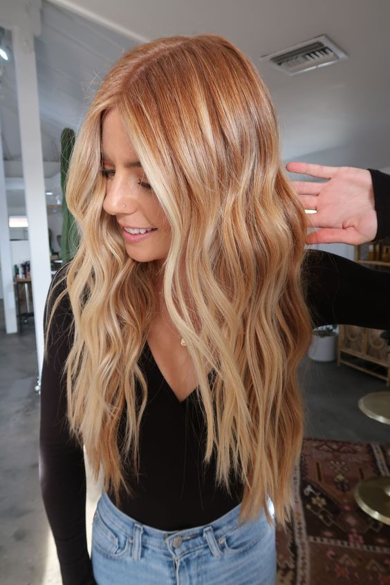 Copper Hair Options for Blondes