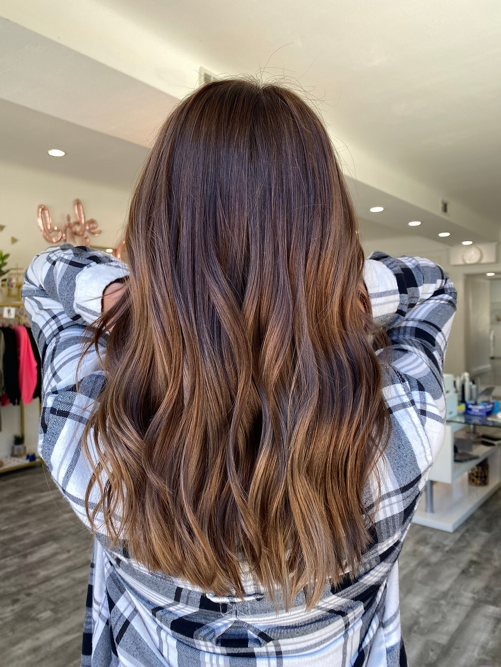 Brown Hair with dimension- Rocky River, OH
