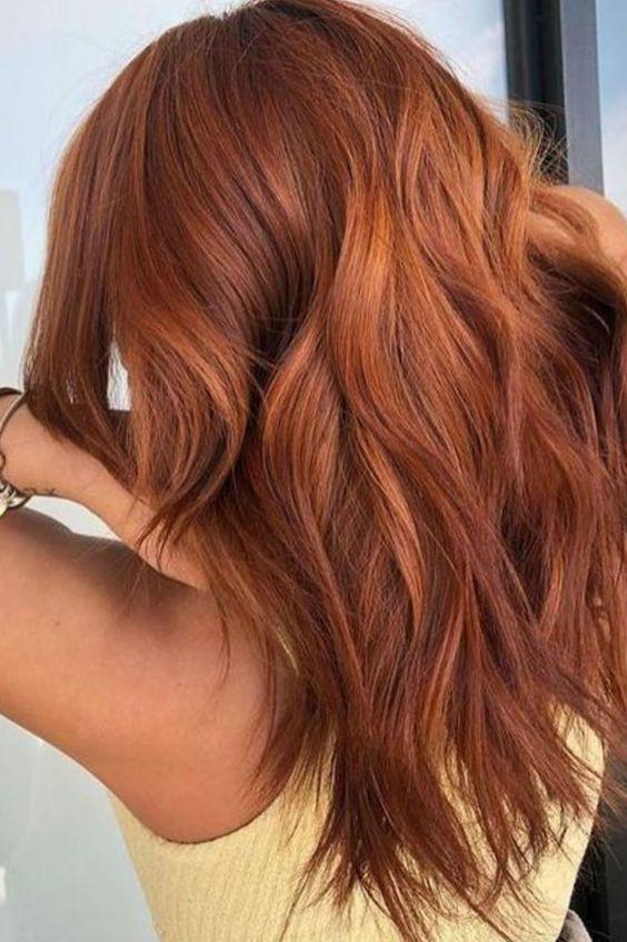 Copper Hair for Brunettes