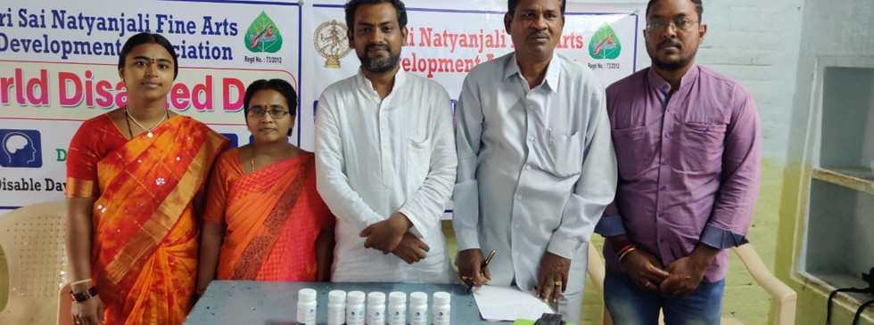 World Disabled Day Medicine distribution