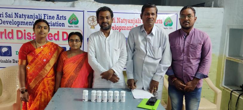 World Disabled Day Medicine distribution