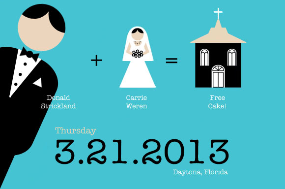 Carrie and Don's Save the Date
