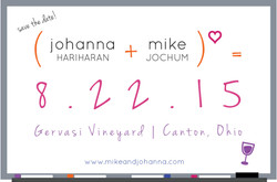 Johanna and Mike's Save the Date
