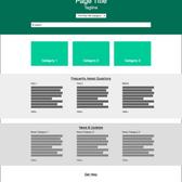 Full Website Wireframe