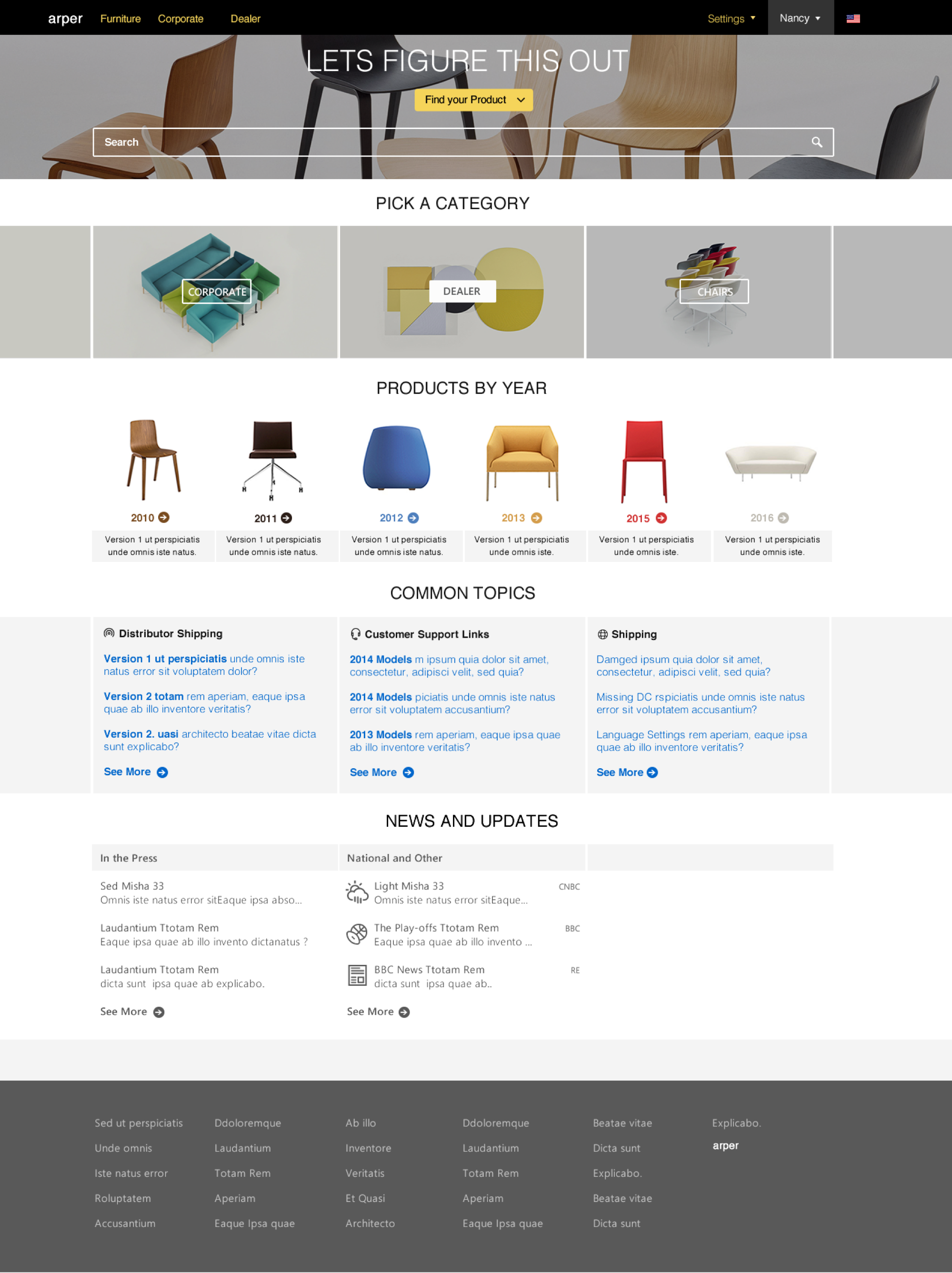 Arper Product Theme