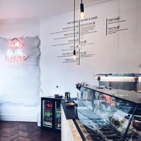 Chilly Katz Hot Dog Bar, Food Hammersmith