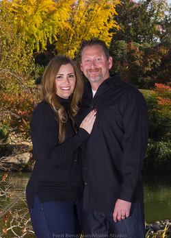 Portrait Of Scott and Andrea Gumm