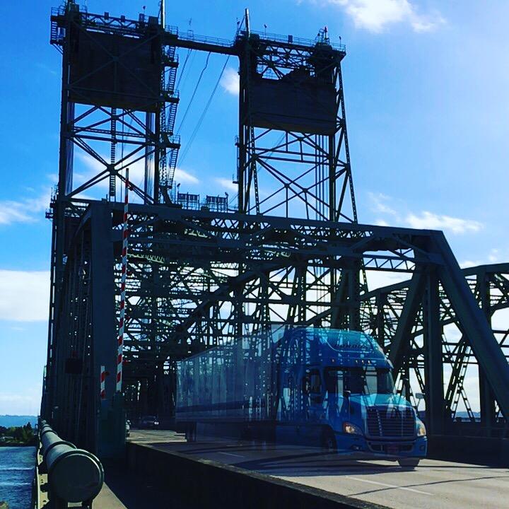 Ghost Truck, I-5 Bridge
