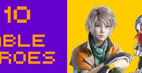 Top 10 - Playable RPG Heroes