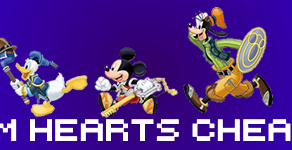 Kingdom Hearts Cheat Sheet - Part 1