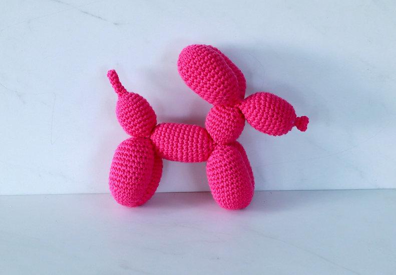 Crocheted Balloon Dog Stuffy