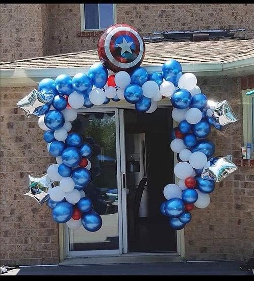 Platinum Balloon Arch