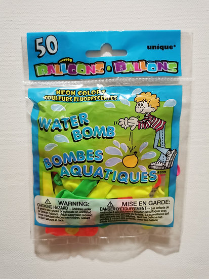 NEON Biodegradable Water Balloons