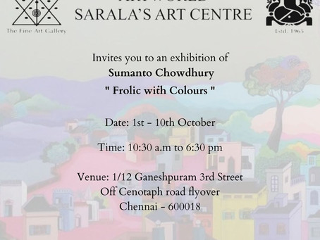 Frolic With Colours - Sumanto  Chowdhury
