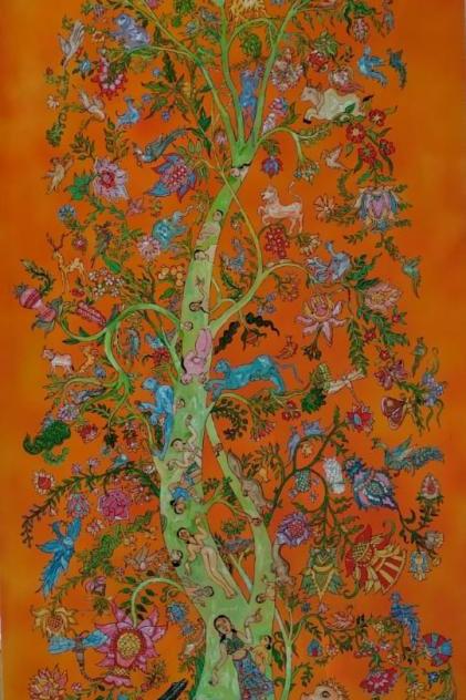 Acrylic on Canvas by K. G. Narendrababu