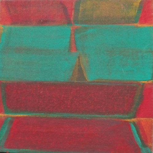 Casein on Canvas  by V. Viswanadhan