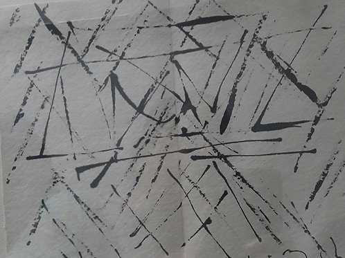 Ink on Paper  by V. Viswanadhan
