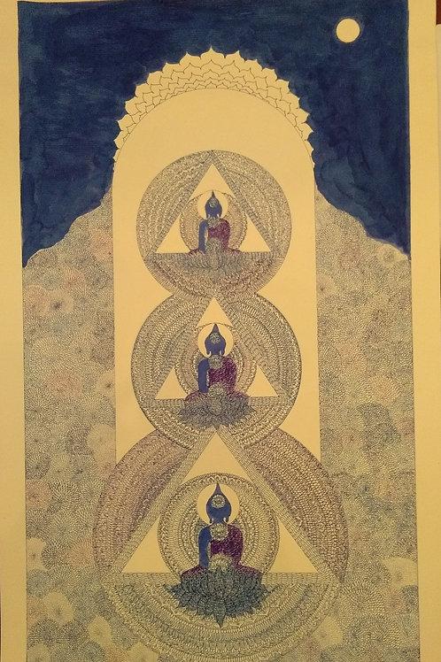 Ink On Paper by Bodhiselvam