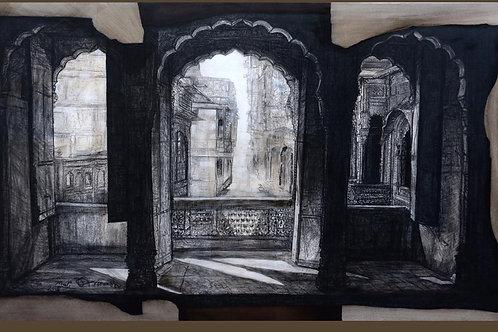 Acrylic on Canvas by Avinash Thakker