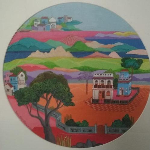 Acrylic on canvas board   by Sumanto Chowdhury