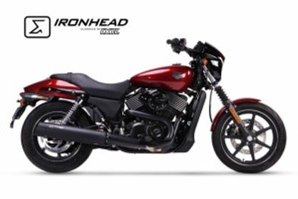 Ironhead exhaust XG750 BLACK (LENGTH 550mm)