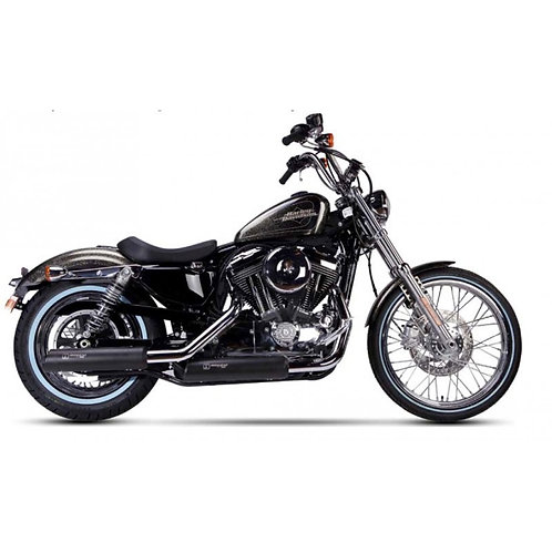 Ironhead exhaust Sportster Black