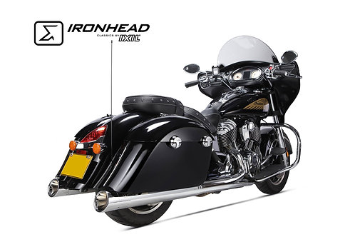 Ironhead exhaust Indian Chief Chrom