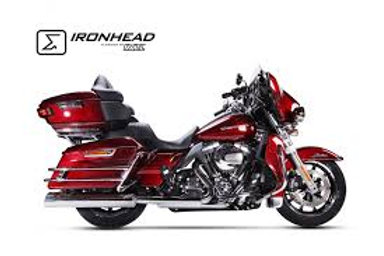 Ironhead exhaust Touring Chrom