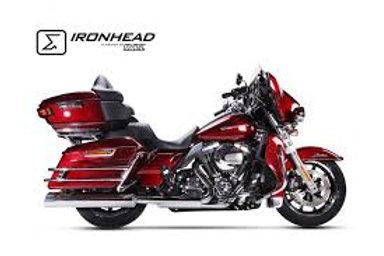 Ironhead exhaust Touring Chrom