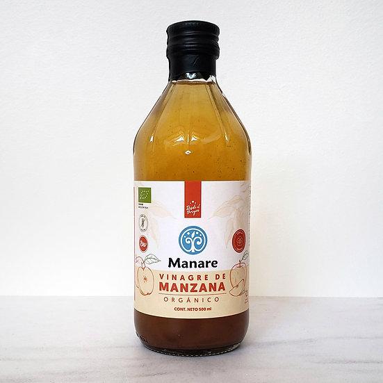 Vinagre orgánico de Manzana Manare 500ml