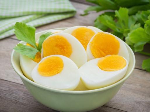 El tiempo que hace falta para cocer un huevo duro perfecto