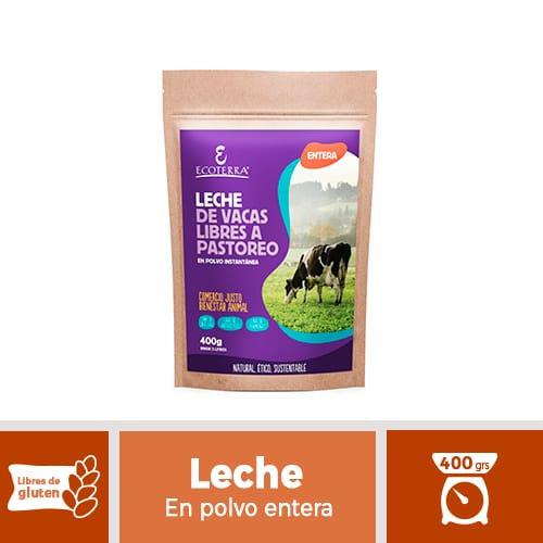 Leche en polvo de Vacas de libre Pastoreo