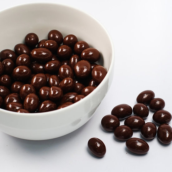 Cranberries bañados en chocolate Bitter 100g