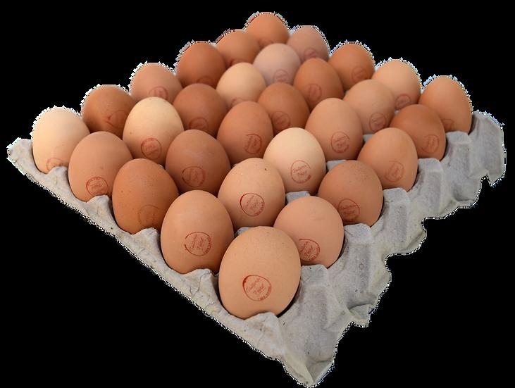 "Bandeja de 30 huevos ""segunda"""