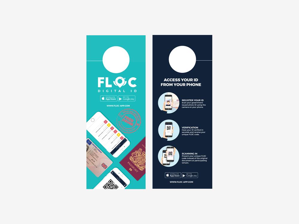 FLOC door hang